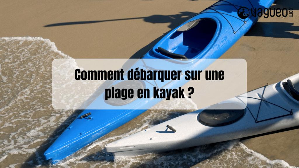 Comment sortir d'un kayak ?